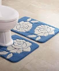 2 piece bath mat set