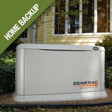Image Generac Generator Home Generators Home Depot All Generators