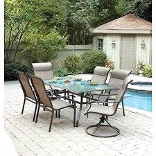 7 piece patio dining set. Patio Dining Sets 7 Piece Garden Oasis Set Mainstays I