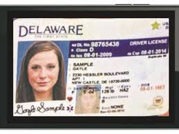 Driver's Wants Delaware License Your Phone To Put On