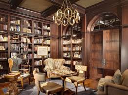home library lighting. One Home Library To Rule Them All By Wood\u2026 Morgante-Wison For Elle Decor. Lighting