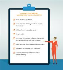 Tips To Interview 9 Interview Thank You Letter Tips Livecareer