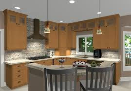 L Shaped Kitchen Plans With Island