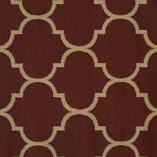 ottomanson paterson collection contemporary moroccan trellis design lattice area rug 7 10 x 9 10 orange ottomanson