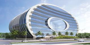 famous architectural buildings. Contemporary Buildings ONGC Mumbai With Famous Architectural Buildings