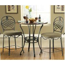 tall dining chairs counter: steve silver wimberly  piece counter height dining table set at hayneedle