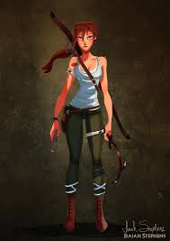 Jane Porter as Lara Croft   These Artistic Takes on Disney Princesses Will  Change the Way You See Them Forever   POPSUGAR Love & Sex Photo 206