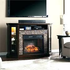impressive black electric fireplace tv stand viagrmgprix throughout black corner electric fireplace ordinary