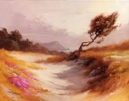 free landscape painting lesson