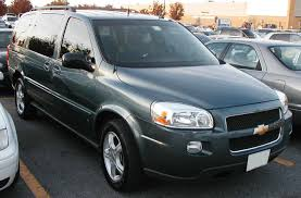 2006 Chevrolet Uplander - Information and photos - ZombieDrive