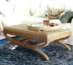 woven coffee table coffee table e trunk round woven ottoman inside woven coffee table gallery esmont woven side table