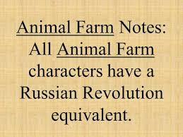 animal farm and v for vendetta making connections ppt animal farm russian revolution