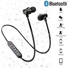 Manyetik kablosuz Bluetooth 4.2 kulaklık XT11 spor koşu kablosuz Bluetooth  kulaklık IPhone 6 için 8X7 Huawei eller serbest Bluetooth Earphones &  Headphones