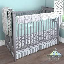 mint and grey nursery custom crib bedding mint grey gray linen satin custom mint green and mint and grey