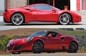 2018 ferrari 488 spider for sale. wonderful 2018 ferrari 488 gtb and the alfa romeo 4c spider throughout 2018 ferrari spider for sale