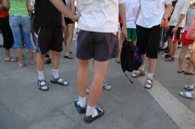 Risultati immagini per sandalo tedesco