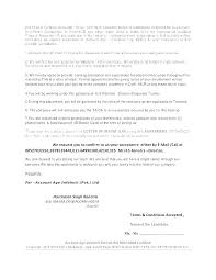 Army Letter Of Intent Template