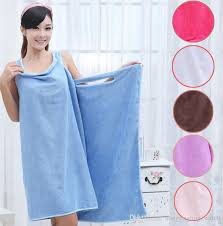 Magic Bath Towels Lady Girls Spa Shower Towel Body Wrap Bath Robe