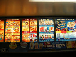 Dairy Queen Menu Calories Chart Dairy Queen Breakfast Menu Seattle Handyman Services