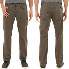HUDSON Mens Jeans Byron 5 Pocket Straight Leg Twill Pant Clothing Men