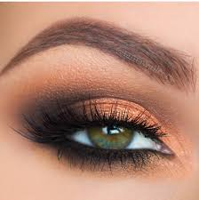 eye makeup perfect for green eyes
