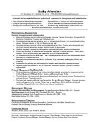 Property Management Resume Fieldstation Co Manager Sample Examples ...