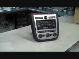 bose car stereo. nissan murano bose car stereo repair 2003 - 2007 coins in radio no audio burning youtube