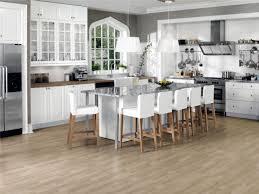 Industrial Kitchen Flooring Wooden Laminating Flooring Ideas In Small Kitchen Design White