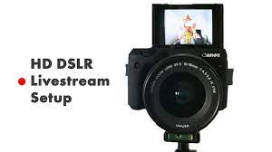 How to live stream with a DSLR Camera (HD Livestream Setup Tutorial) OBS &  BeLive.TV - YouTube