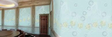 Design Behang Stippen Bloem Licht Grijs Muurbloemcom
