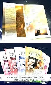 Souvenir Book Template Souvenir Program Template Souvenir Program Template Sample Layouts