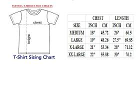 Indian Polo T Shirt Size Chart Coolmine Community School