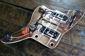prewired jazzmaster joe barden jm two tone rothstein guitars prewired jazzmaster
