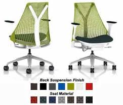 sayl office chair. Herman Miller Sayl Chair Home Office Desk Task - SAYL Work With Fully Adjustable Spruce Arms E