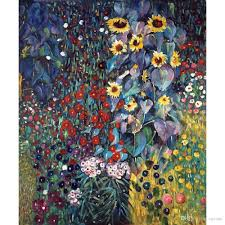 2018 landscapes art farm garden with sunflowers by gustav klimt oil painting modern high quality hand painted from reeme 126 64 dhgate com