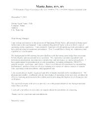 Cover Letter Sample Registered Nurse Cover Letter Sample Cover ...