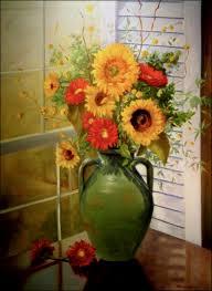 beautiful paintings of flowers 0231
