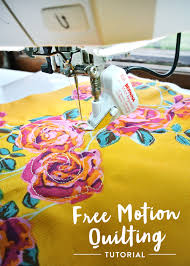 Free Motion Quilting Tutorial for Beginners - Suzy Quilts & How-to-Free-Motion-Quilt Adamdwight.com