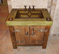 Rustic Bathroom Vanities And Sinks Bathroom Elegant Rustic Bathroom Vanity With Vessel Sink Tips