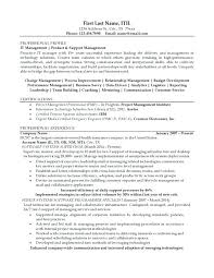 It Infrastructure Resume Click Here To Download This Project Manager