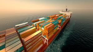 cargo container ship on the stock videoer 100 royaltyfri 3635942 shutterstock