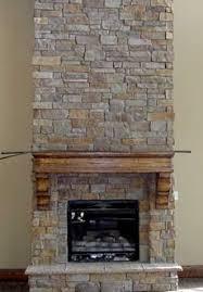 Faux Stone FireplaceFake Stone Fireplace