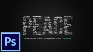 1920x1080 how to make typographic wallpaper in photo you
