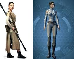 star wars rey costume outfit diy