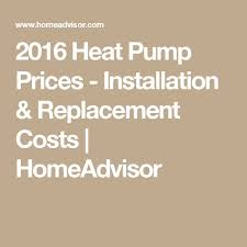 heat pump replacement cost. Brilliant Cost Heat Pump Replacement Cost Pictures To C