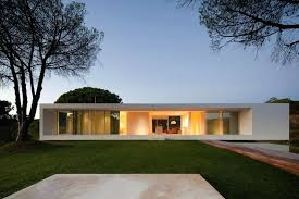 simple modern house. Plain Simple Simple Modern House Back Of And With Overlapping  Volumes In The Cross Shape Bungalow Plans A