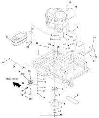 gravely zt xl hp kawasaki deck engine exhaust belts and idlers diagram gif