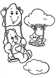 Small Picture Care Bear Coloring Pages Ppinewsco