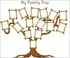 my family tree template printable family tree template with siblings pictures reference