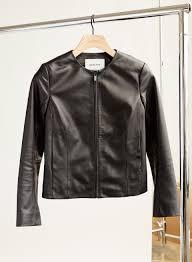 jett leather jacket minimalist leather jacket